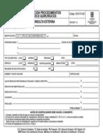 Cex-fo-022 Cotizacion Procedimientos Medico Quirurgicos