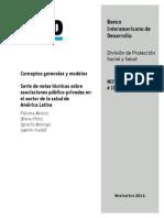 Serie de Notas Técnicas Sobre Asociaciones Público-privadas en El Sector de La Salud de América Latina