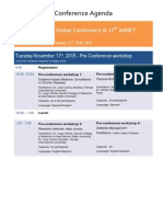 WARFS Antigua 2015 Conference - UPDATED -FINAL November 11th 2015