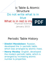 periodic structure and atomic structure notes patrick 2015