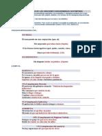 Características o. Subordinadas Sustantivas Con Ejer Rsltos