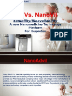 Advil vs Nano Advil
