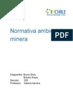 Normativa ambiental minera