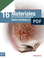 Materiales Para La Enseñanza Multicultural-Rutas Turísticas y Literarias