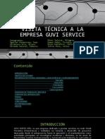 Visita Técnica a La Empresa Guvi Service