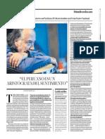 Manongo Mujica. Dará un concierto con PerúJazz el 14 de noviembre en el Gran Teatro Nacional.elcomercio_2015-11-08_#03