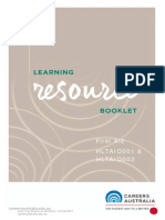 First Aid Resource Book