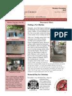 Oct Nov 2015 Newsletter