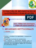 ESTRUCTURA DE IMPLEMENTACIÓN DE LA ESTRATEGIA Y PLAN DE ACCIÓN - Pract.9.pptx