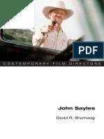 David r. Shumway - John Sayles (Contemporary Film Directors)