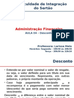 Aula04 Matemática Financeira Desconto