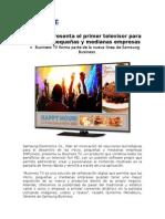 NP- Samsung presenta el primer televisor para las micro, pequeñas y medianas empresas_1