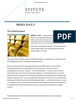 The Gold Standard _ Mises Daily