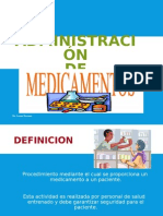 Administracion de Medicamento