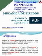 MECANICA DE FLUIDOS I   FLUIDOS EXTERNOS CAPA LIMITE