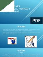 Instalaciones Hidráulicas, Normas y Reglamentos