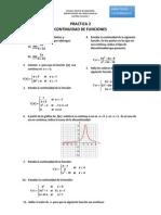 Practica 2 CONTINUIDAD Limites 2015