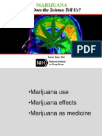 Dr. Baler Presentation Marijuana July2015