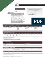 Bronze C93200 Specifications
