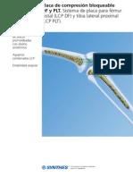 Placa de Compresion Femoral Distal Tibia Proximal 2