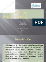 Síndrome de Wallenberg Ppt