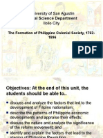 Formation of Colonial Society 1