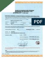 Defensa Civil Certificado