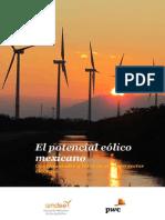 El potencial eólico mexicano