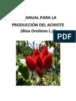 Manual Achiote