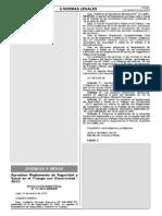 Reglamento de Seguridad y Salud en El Trabajo Con Electricidad - 2013 - RESESATE-2013-GFE-2015-01