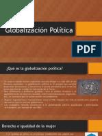 Globalización Política