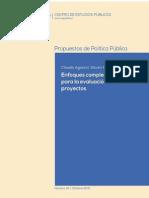 Enfoques Complementarios Para La Evaluación de Proyectos 2015
