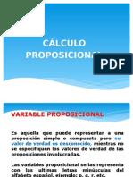 2.- CALCULO PROPOSICIONAL