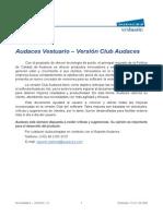 Novedades - Audaces Vestuario Versión Clube