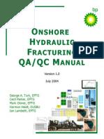 QAQC MANUAL - Onshore Hydraulic Fracturing Manual_V1_Jul04