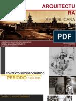 Arquitectura Republicana 1920-1945 (1)