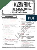 SIMULACRO N° 07 - PNP- CULTURA GENERAL