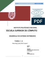 Tarea1.4 SistemasDistribuidos