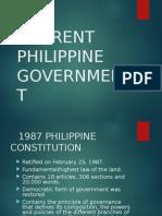 Current Philippine Government