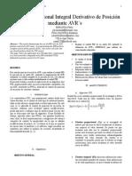 Control PID de posicion de un motor mediante AVR
