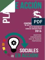 Plan de Acción Sociales en Acción CF Sociales 2016