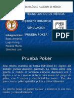 8. Prueba-Póker-PPT. Simulacion unidad 2