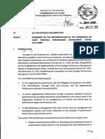COA Memorandum 2015-008 Dtd August 7, 2015