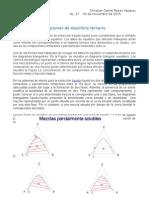 Diagramas de Equilibrio Ternario