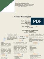 Mapa Mconceptual Politicas Tecnologicas
