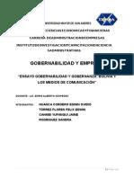 Gobernanza y Medios de Comunicacion Presentacion