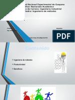 Diapositiva de Metodos, Productividad.