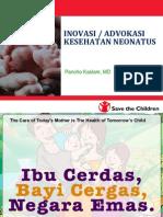 4. Materi Save the Children - Advokasi Kesehatan Neonatus