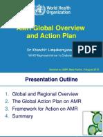 AMR Presentation_WR SM_Final1 - Dr Khanchit