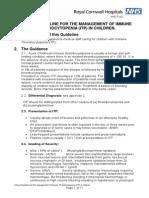 Management of ITP in Children